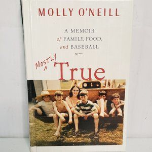 Hardcover Book Accents - Mostly True A Memoir of Family, Food, & Baseball
